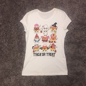 """Trick or Treat"" Candy Corn T-Shirt"